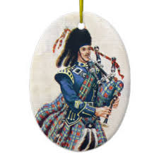 bagpipe ornaments keepsake ornaments zazzle