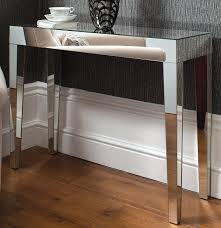 mirrored console table for sale modern glam venetian glass geo console hall table mirrored furniture