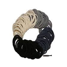ponytail holders hair ties black elastics 100 pack eboothair ponytail holders hair