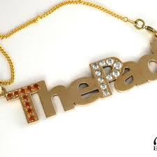 personalized necklace charms custom hip hop chains bling pendants custommade