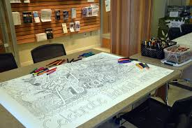 crown point community library today is national coloring book day
