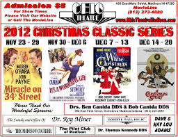 classic christmas movies classic christmas movies at the ohio theater 2012 schedule