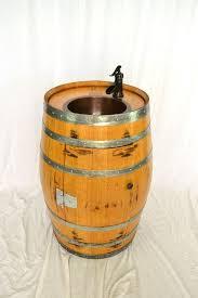 Wine Barrel Vanity Buy A Custom Barrel Pranya Vanity With Copper Sink Made To