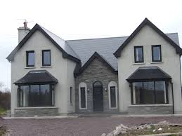 house plan almost finished new storey and half residence in kerry