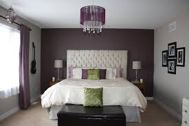Purple Accent Wall by Purple U0026 Gray Colour Scheme For Bedroom For The Home Pinterest