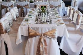 Elegant Chair Covers Dearly Beloved Romantic Wedding Encom