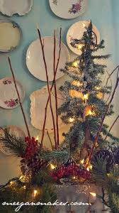 how to decorate a vintage style christmas tree what meegan makes