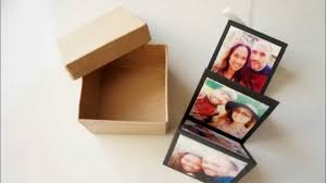 accordion photo album diy accordion photo card