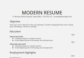 amazing career objective resume examples u2013 resume template for free