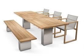 Teak Patio Dining Sets - butaque teak cima collection fueradentro outdoor design