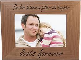 amazon com the love between a father and daughter lasts forever