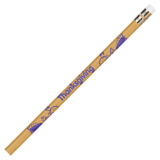 moon products thanksgiving themed pencils 2 lead barrel 1
