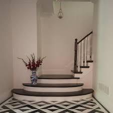 black and white tiled floor design ideas