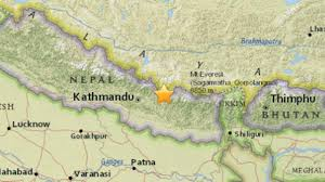 Map Of Nepal And China by Major 7 3 Magnitude Earthquake Hits Nepal Epicenter Near China