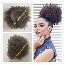 weave ponytail afro curly weave ponytail hairstyles clip ins brown human