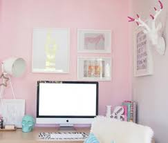 Pink Computer Desk Office Room 17 Pink Computer Desk For 16 Pink Office Ideas