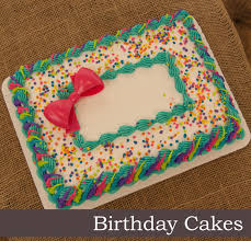Sheet Cake Decoration Harps Foods Cakes