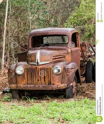 Ford Vintage Trucks - rusty old ford truck abandoned editorial image image 87653455