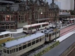 Bad Salzuflen Bahnhof Haagse Module Groep H0 Anlage Modellbahn