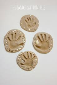 sand clay recipe and handprint keepsakes keepsake crafts