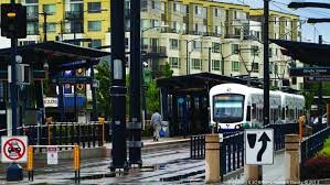 seatac light rail station with light rail alignment picked development opportunities come