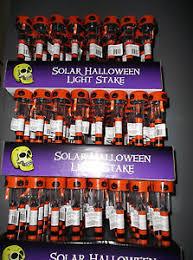 six brand new solar led halloween pathway lights black orange