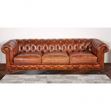 Leather Tufted Sofa Furniture Category Elegant Leather Tufted Sofa For Home
