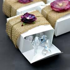 purple wedding favors 4x4x2 white cake box 100 boxes efavormart