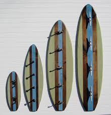 surfboard coat rack project cottage
