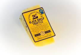 italian truffle cheese black sheep truffle carrvalleycheese