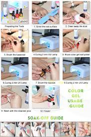 canni gel lacquer 5ml 141 pure colors uv gel manicure diy nail art