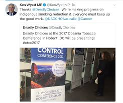 smoking naccho aboriginal health news alerts