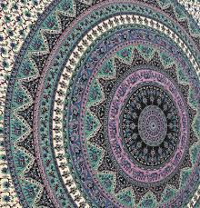 Where To Get Cheap Tapestry Amazon Com Large Indian Mandala Tapestry Hippie Hippy Wall