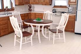 dining room contemporary wooden extendable dining table white