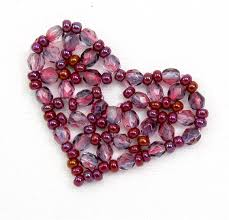 diy beaded pendant necklace images Diy this valentine 39 s day with heart jewelry tutorials png
