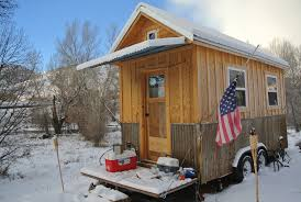 tiny houses austin for sale located in the snowy cold and desolate