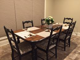 makeovers kitchen table refinish refinishing the dining room