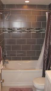 Bathroom Glass Tile Designs by Bathroom Tub Tile Ideas