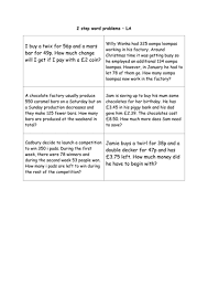 addition and subtraction word problems year 4 5 by shiv199