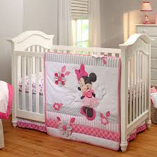 Crib Bedding Set Minnie Mouse Minnie Mouse Crib Bedding Set For Baby Personalizable Bedding