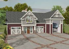 architecturaldesigns com rv garage with observation deck 20083ga architectural designs