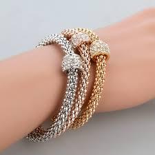 fashion jewelry charm bracelet images 3 piece color fashion bracelet luckywants jpg
