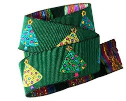 buy ribbon online buy ribbon christmas trees on green lfnt renaissance ribbons