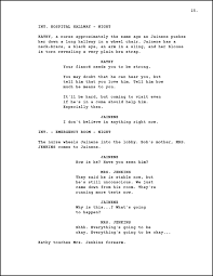 screenwriting page numbering a screenplay creative genius 101