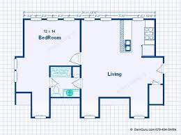 garage floor plans with apartments 3 car garage with living quarters design floor plan
