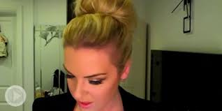 big bun hair how to make a big hair bun 3 simple methods beautylish