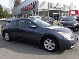 grey nissan altima black rims used 2008 nissan altima coupe 2 5 s alloy wheels heated seats