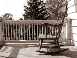 Rocking Chair Philippines Rocking Chair On Porch Stock Photos Royalty Free Rocking Chair On