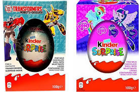 easter eggs surprises kinder eggs hit shelves at tesco asda and others