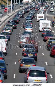 traffic congestion jam on gotthard motorway near
